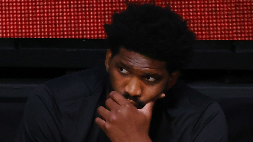 Brown unsure of severity of Embiid's wrist injury