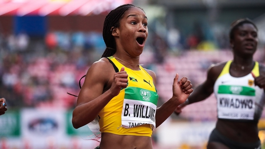 Briana Williams has nothing else to prove as a junior - Leighton Levy