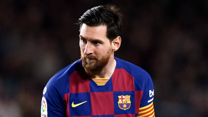 Barcelona confirm Messi quadriceps injury blow
