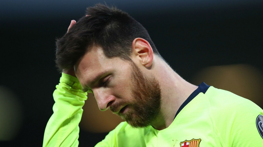 Messi: Barcelona must 'start from scratch' after two painful Champions League exits