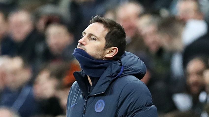 Chelsea boss Lampard pins last-gasp defeat on wasteful finishing