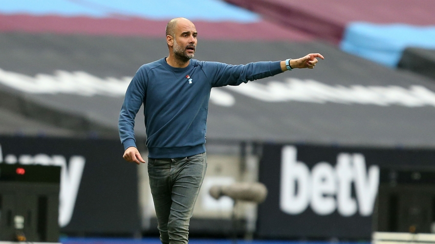 Guardiola: It's time for Manchester City to struggle