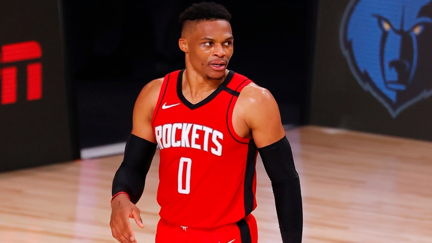 Westbrook helps Rockets edge Bucks, Celtics win