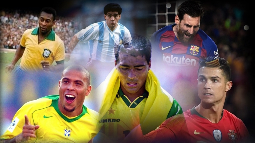 'Who is the Greatest?' Pele? Messi? Ronaldo?