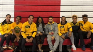 Jamaica's gymnasts who competed at the Pan Am Championships in Peru. The championships concluded on Sunday.