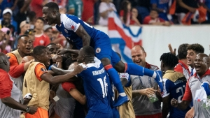 Haiti historic win left players in tears