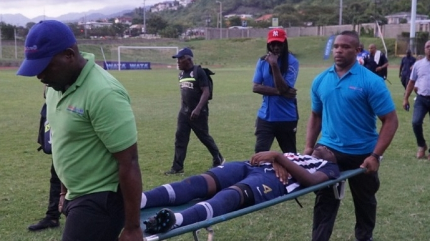 Schoolboy football players struck by lightning on the mend