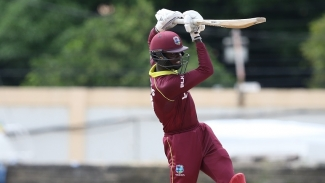 Captain Kimani Melius scored 65 as the West Indies racked up 303 for 8.