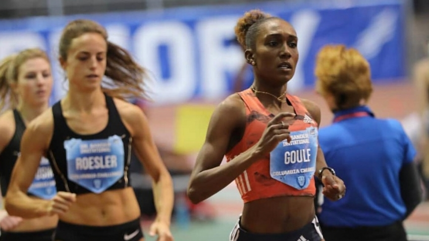 1:59.13 in February is 'truly amazing' - Natoya Goule