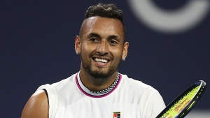 Nick Kyrgios has vowed to be on his best behaviour.