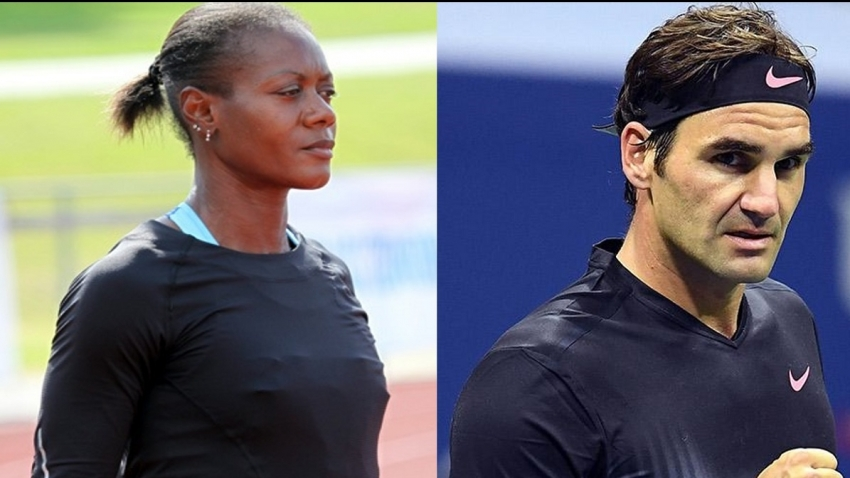 Federer won't follow in Ottey's footsteps