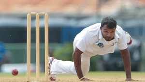 Veerasammy Permaul claimed magical second-innings figures of 6-50.