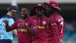 Windies claim fifth after rain washes out match with Australia