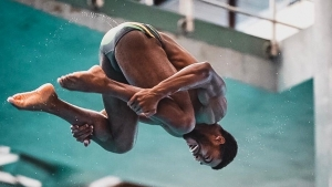 Jamaican diver Knight-Wisdom to capitalize on extra year until the Olympics